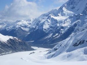 Tasman Glacier, New Zealand.